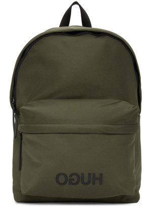 HUGO BOSS Green Record Backpack