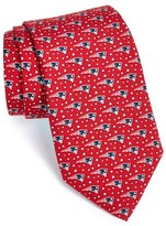 Vineyard Vines New England Patriots Print Tie