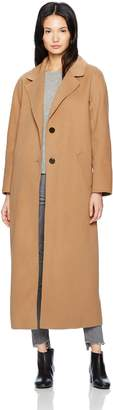 Mackage Women's Adriana Doubleface Wool Menswear Inspired Coat