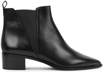 Acne Studios Jensen 40 black leather ankle boots