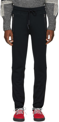 Moncler Navy Zip Pocket Lounge Pants
