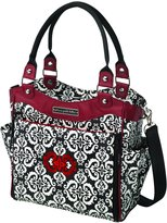 Petunia Pickle Bottom City Carryall Diaper Bag, Frolicking in Fez