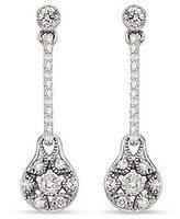 1/4 Carat Diamond 18K White Gold TACORI Drop Earrings (FE597)