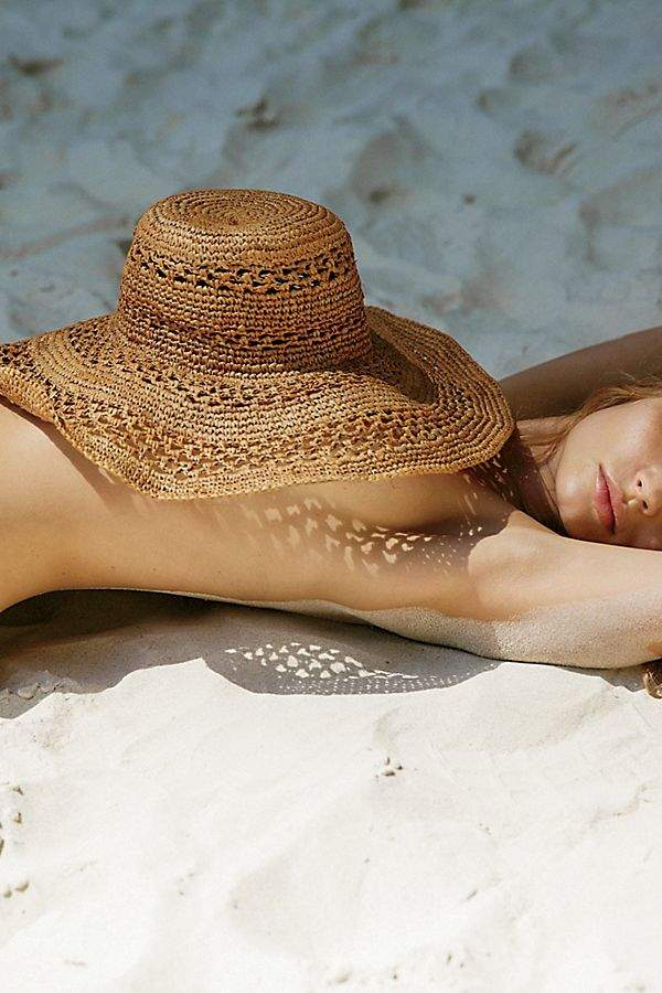 Ale By Alessandra 'Ale By Alessandra Camille Raffia Straw Hat