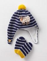 Boden Crochet Hat & Mittens Set