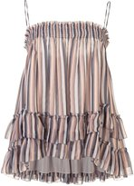 Derek Lam 10 Crosby elasticated waistband ruffled skirt - women - Silk - 4