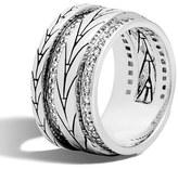 John Hardy Diamond Band Ring