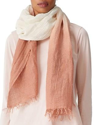 Eileen Fisher Organic Linen-Blend Ombre Scarf