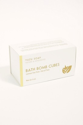 Yuzu Soap Yuzu Bath Bomb Cube Set