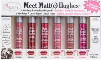 TheBalm Meet Matte Hughes Mini Liquid Lipstick Set Vol. 3