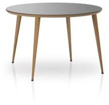 "Corrigan Studio Shena 35.4"" Dining Table Table Top Color: Gray"