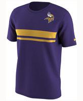 Nike Men's Minnesota Vikings Color Rush Stripe T-Shirt