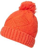 Orange Boucle Beanie