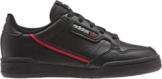 adidas Continental 80 Running Shoes - Black / Scarlet Collegiate Navy Blue