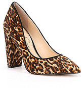 Jessica Simpson Tanysha2 Leopard Print Calf Hair Pumps