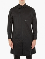 Y-3 Black Long Cotton Shirt