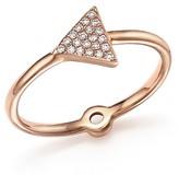 Bloomingdale's Diamond Micro Pavé Midi Ring in 14K Rose Gold, .10 ct. t.w.