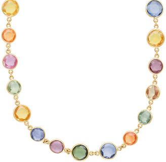 Jamie Wolf 18k Multicolor Sapphire Necklace