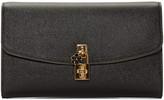 Dolce & Gabbana Black Dolce Pochette Clutch