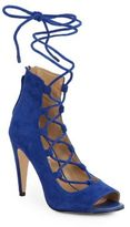 Saks Fifth Avenue Naylee Lace-Up Suede Sandals