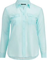 Ralph Lauren Woman Cotton-Silk Shirt