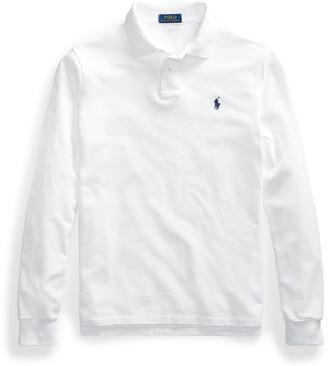 Ralph Lauren Long-Sleeved Mesh Polo Shirt - All Fits
