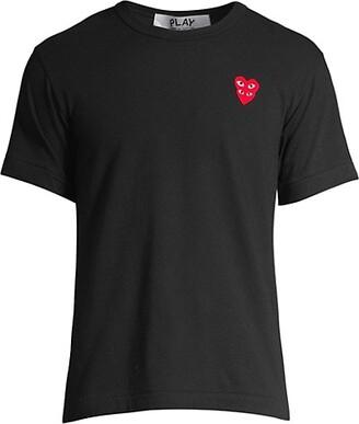 Comme des Garcons Play Double Heart T-Shirt