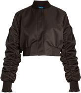 Ellery Minnie gathered-sleeved cropped jacket
