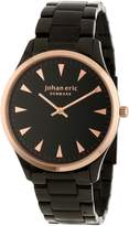 Johan Eric Men's JE9000-10-007B Helsingor and Rose Gold Ion-Plated Steel Bracelet Watch