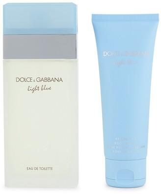 Dolce & Gabbana Light Blue 2-Piece Travel Set