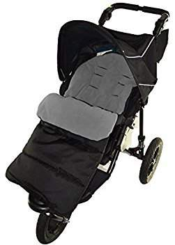 N. Footmuff/Cosy Toes Compatible with Out About Nipper Single 360 Pushchair Dolphin Grey