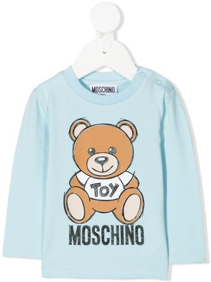 MOSCHINO BAMBINO Teddy Bear sweatshirt