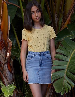 Levi's High Rise Girls Denim Skirt