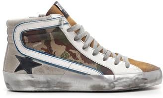 Golden Goose Distressed Hi-Top Sneakers