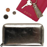 Undercover Metallic Leather Long Zipped Purse