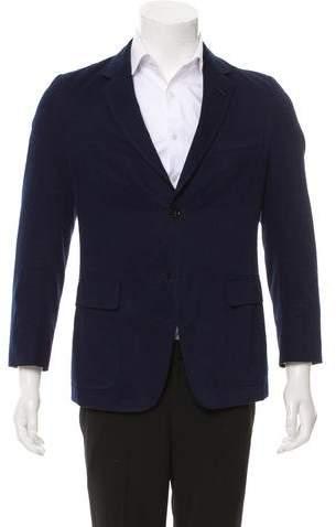 Gucci Woven Two-Button Blazer