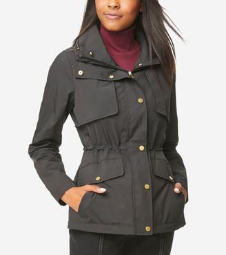 Cole Haan Short Packable Rain Jacket