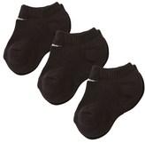 Nike Pack of 3 Black No Show Socks