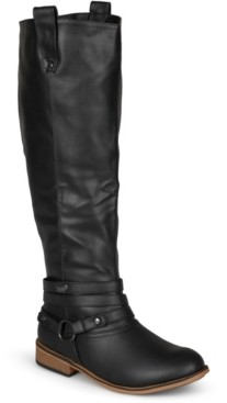 Journee Collection Women's Extra Wide Calf Walla Boot Women's Shoes