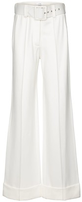 Victoria Victoria Beckham Wide-leg stretch-jersey pants