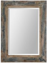 Uttermost Bozeman Distressed Beveled Wall Mirror