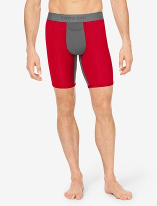 Tommy John Tommyjohn Second Skin X Air Boxer Brief, Colorblock