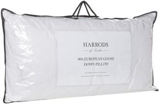 Harrods 90% European Goose Down King Pillow (91cm x 48cm)