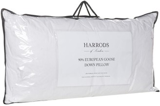 Harrods 90% European Goose Down King Pillow