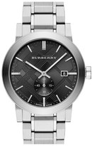 Burberry Check Stamped Bracelet Watch, 42mm