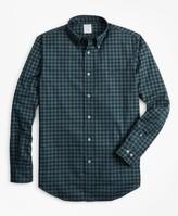 Brooks Brothers Regent Fit Brushed Gingham Sport Shirt