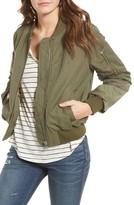 Madewell Women's Satin Bomber Jacket