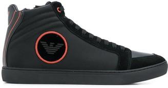 Emporio Armani hi-top sneakers