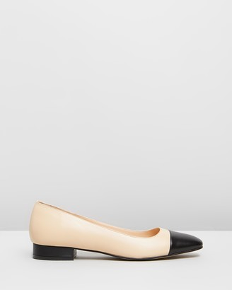 Jonak Danero Leather Ballet Flats