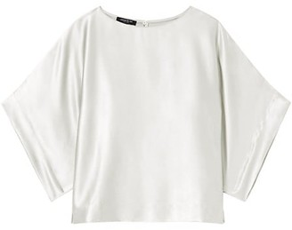 Lafayette 148 New York Burnett Silk Blouse